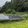 木更津太陽光発電所 1号基の草刈り状況
