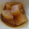 大根の煮物 鶏油風味