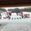 家族でスキーとスノーマラソン