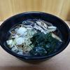 箱根鉄道の始発駅で食べる椎茸そば⁉ @三島駅 三島そば