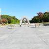 【 平和記念公園。原爆の事実を目の当たりにして。】