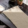 リブ編みマフラーを編む:2玉目