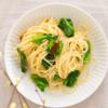彩り鮮やか、菜の花とアンチョビのペペロンチーノ | レシピ・作り方