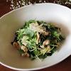 簡単ごちそうサラダ*三つ葉と鶏胸肉の生姜焼き風グルテンフリーおかずレシピ