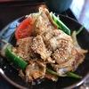 「マタリ」の豚肉焼肉定食、美味し!!