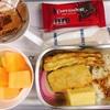 アエロメヒコ航空の機内食チョコ