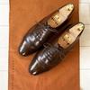 世界最高峰の革靴ブランドの1つ。英国ロイヤルファミリー御用達のクロケット&ジョーンズ