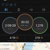 2020/10/3 日中の30km走
