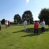シニアクラブ (106 )      木枯らし1号とグラウンドゴルフ