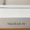 【MacBook Air】新しいお友達が増えました!