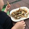 【唐揚げ激うま食材】鳥取の船磯港で豆アジのサビキ釣りに挑戦!【イワシ、サバも狙えるファミリーにもおすすめな釣り場です】