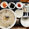 【韓国料理】本粥&ビビンバcafeでサムゲアワビお粥をいただきました【新大久保駅】