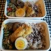 雑穀米とさんまのフライ弁当 10.28