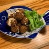 豆のコロッケファラフェルと焼きパプリカ