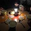 地震からの停電(27時間)