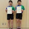 【卓球部】八王子市中学校春季卓球大会ダブルスの部 ベスト8