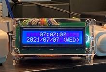 いつでも正確な時計を自作。GPSからの情報を秒単位で表示します
