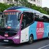 フランスへのバス旅と南仏のバス。バスを活用しました。その1