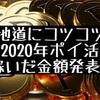 2020年ポイ活でいくら稼いだ?結果発表〜!!
