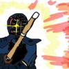 【剣道】上段に霞で挑む!(勢いだけは良い)