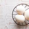 面倒だと後回しにしていた事、「メレンゲ作り」と「温泉卵」