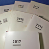 今だけの「白さ」「薄さ」に驚愕しながら使い始める、7年目のジブン手帳