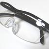 1.6倍に見えるメガネ型拡大ルーペを購入した結果、男の象徴も1.6倍に!?