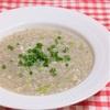 きのこと蓮根のスープ