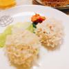 簡単ホットプレートで華シュウマイともち米シュウマイ。ぷりぷりで美味しい秘訣はホタテと春雨。
