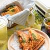 ナポリタンの卵ホットサンド〜菜の花咲く春色〜 #BRUNOホットサンドメーカー