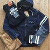 秋物新作でジャケットやジーンズ、7分袖Tシャツやシャツなど続々と入荷しています(^^♪ 陳列棚も製作中☆彡