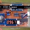 室内CO2濃度の簡単なロガー