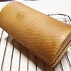 紅麹丸食パン・メッシュ型で焼くと軽い焼き上がりに