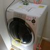ドラム式洗濯機。