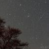 冬の戦場ヶ原で見るふたご座流星群 '17年12月