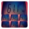 今週の体重、61.1kg。