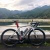 朝ロードバイク - ソロ外練 / 夕Zwift - レース