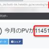 【ありがとう!】ぼっちバイカーのブログの月間pvが遂に10万を超えたのでご報告