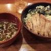 ざる排骨麺 - 肉の万世
