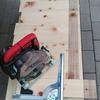 作業台1号の脚づくりpart1
