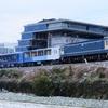 第1513列車 「 藍よしのがわトロッコ号の京鉄博展示配給を狙う 」