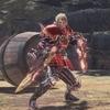 MHW:「皇金の双剣・蛮顎」歴戦王ヴァルハザク専用装備組んでみた