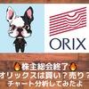 【オリックス】株主総会終了!オリックス株は買いか?チャート分析してみた