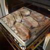 幸運な病のレシピ( 2075 )夜:ヒレ肉ソテータケノコ入り、豚バラオーブン焼き(デロンギ オイルパン使用)、KFC(笑)