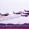 【特集】ブルーインパルス塗装のF-86F展示機