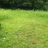 教会境内の草刈り