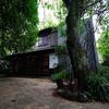 全5邸の完全離れ露天風呂付き温泉「ふかほり邸」の緑に癒されっぱなしのお庭散策