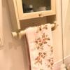 ローラアシュレイのタオルで洗面所やトイレを明るく