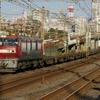 12月1日撮影 東海道線 平塚~大磯間 いつものように貨物列車2本撮影 1097ㇾ 2079ㇾ