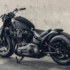 パーツ:Rough Crafts「Guerilla Style Fender for M8 Softail 2018 +」